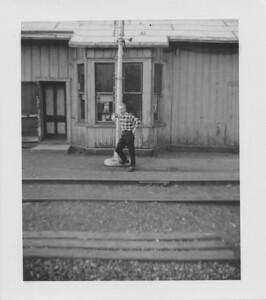 Alex Bondar - while working on the Rail Road, Peru, Indiana