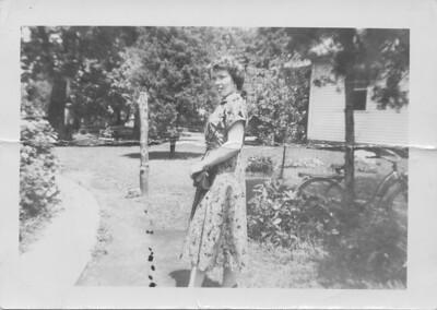 Lydia Bondar (Todositchuk) -  Peru, Indiana - about 1953