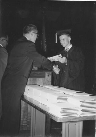 Alex Bondar - HS Graduation - 1958