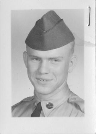 Alex Bondar - Army - 1958