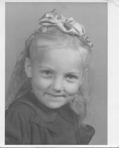 Olga Bondar - Peru, Indiana - about 1953