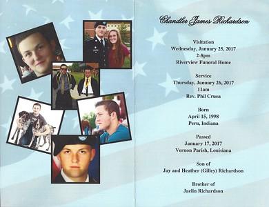Chandler Richardson's Funeral Program 01 26 17 - inside