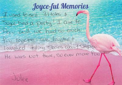 Joyce-ful Memories