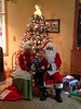 Having fun wit Santa and Mrs Clause