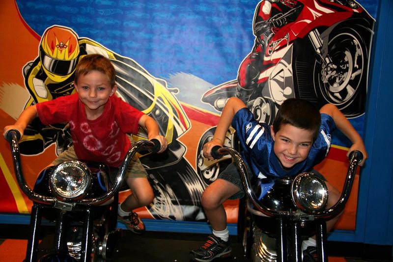The big biker dudes