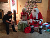 Enjoying a visit from Santa & Mrs Claus on Xmas Eve  — with Cole Kistler, Sharon Meyers, Jennifer Meyers Sullivan and Julee Meyers-Kistler at Nana & Papa's House