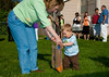 Easter Morning, Egg Hunt in Peru, Indiana, 2012