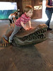 Enjoying the day at the zoo, at Ft Worth Texas, 2014