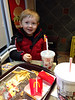 Collecting The Lego Movie cups from our Happy Meals — at McDonald's at 1855 Ushy 41