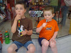 What happens at the candy store, stays at the candy store!! Zack and Evan, 2012
