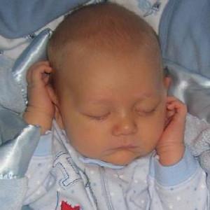 Sweet baby Evan Knotts