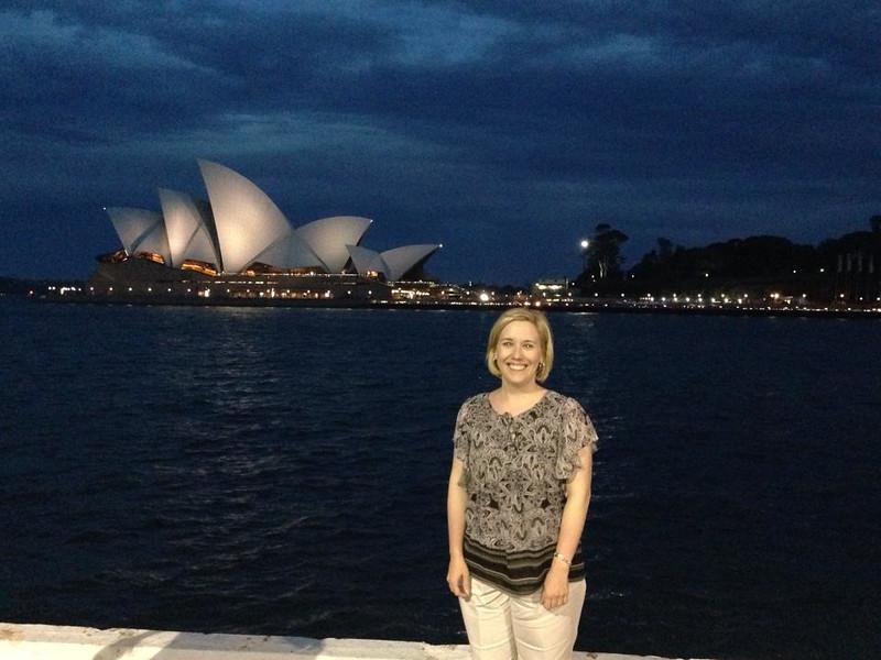 Jennifer Sullivan in Sidney, Australia, 2013