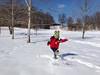 Having some fun in the snow, 2014