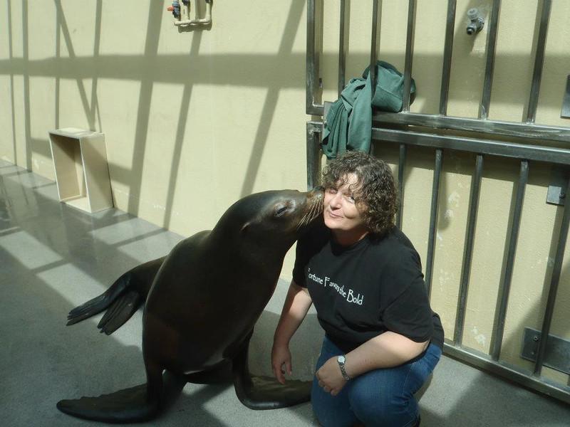 Shari Harris and her love for Sea World, July 2013
