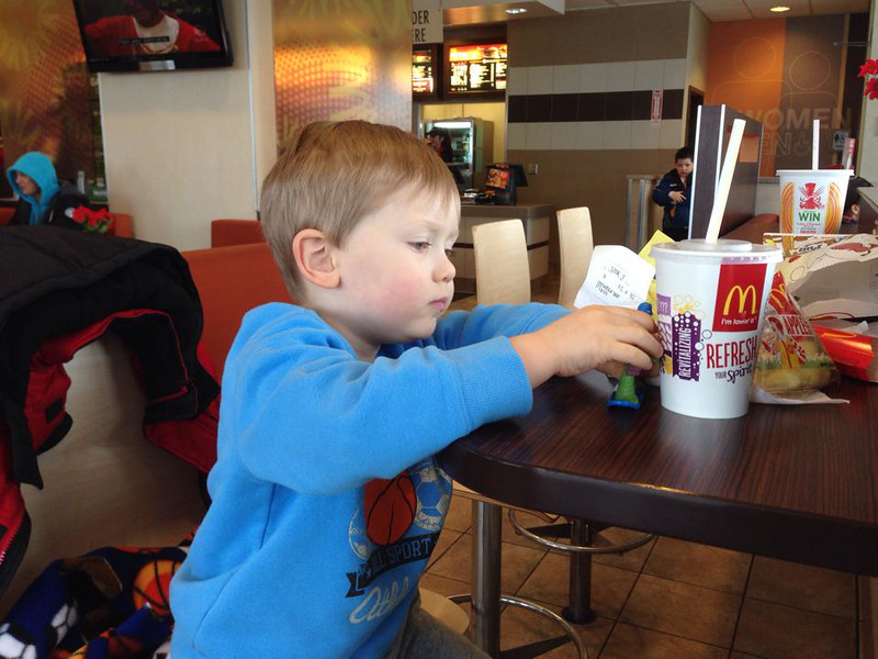 Happy Meal - 12 14 13 — at McDonald's at 1939 E 80Th Avenue (Ds 607)