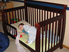 No more crib for Evan!!