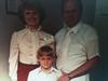 Baptism 1981, Richar, Ruth and Scott Plothow