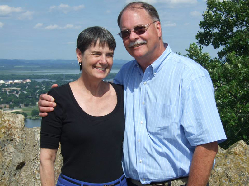 Jane and Nick Hiller in South Carolina, July 2013