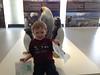 Hanging out at the Osaka Aquarium