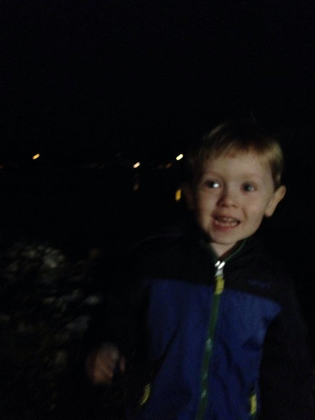Another fireworks show with Samuel,2014
