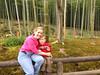 Enjoying the peaceful sounds of Arashiyama Bamboo Forest by Tenryuji Temple