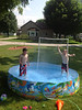 Summertime fun (and use #27 for PVC sprinkler   )!