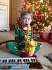 Enjoying a plentiful and musical Christmas morning