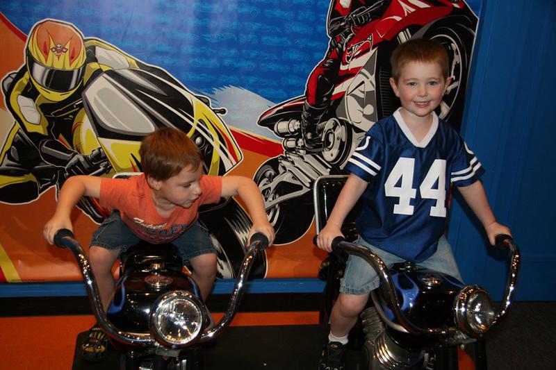 The little biker dudes