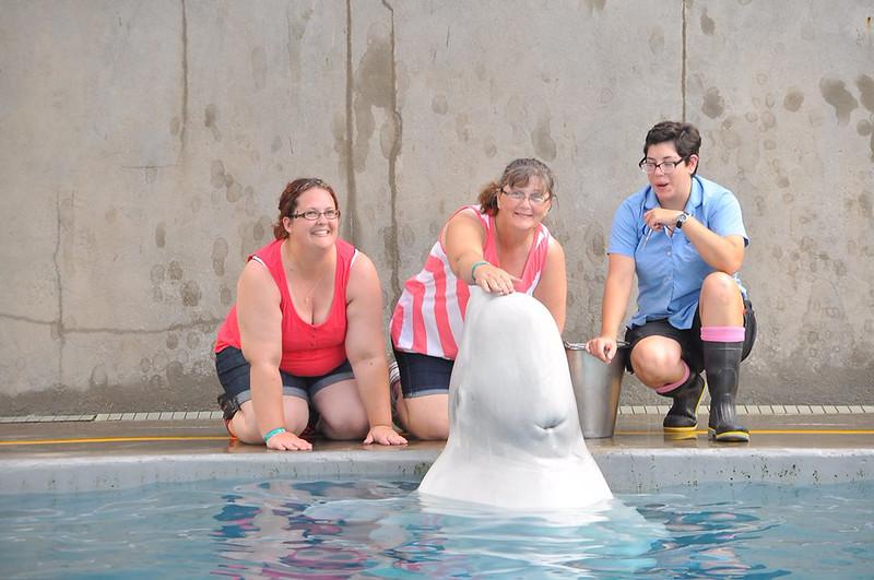Sarah and Shari having fun in Florida