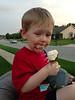He loves visiting Nana & Papa
