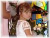 Sara, Tims daughter at sister Tifs wedding