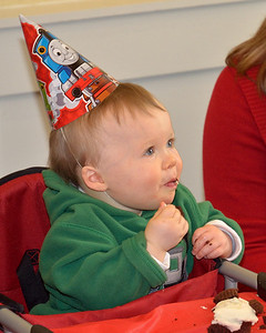Tom's First Birthday