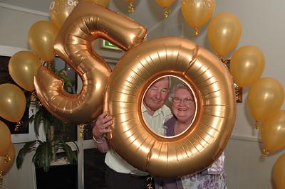 Tony & Joan's 50th Wedding Anniversary