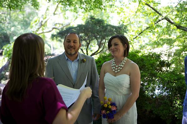 Tony and Amelia Tie the knot