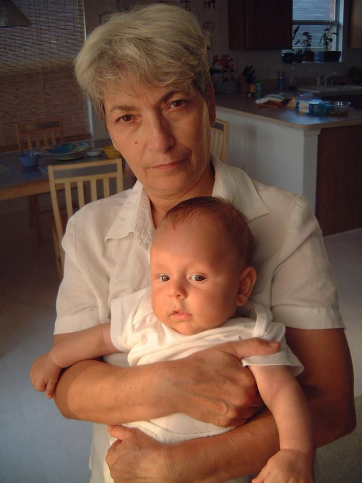 Mama si Matei,<br /> Iulie doua mii trei