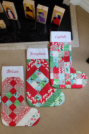 Gust Family Christmas Stockings Dec 2015