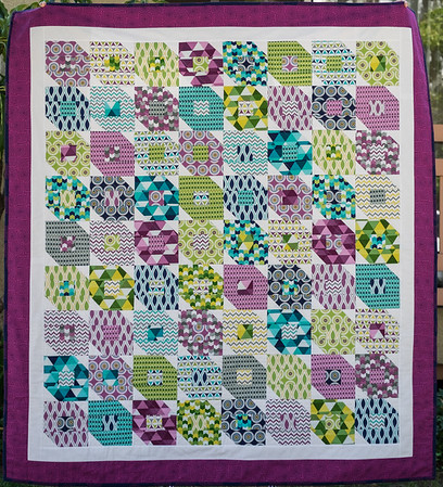 Lisa lap quilt September 2016