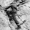 John Graebner at Climbing School