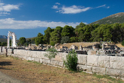 Ruins of Sanctuary of Asklepios Ancient Epidaurus