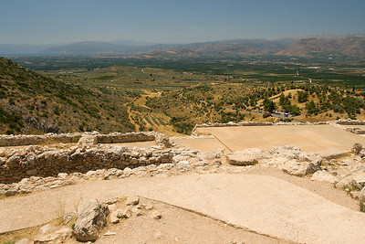 View from the Citadel of Mycenae