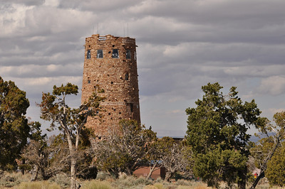 Desert View Watchtower, designed by architect Mary Colter in 1904.