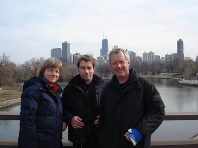 Eltern in Chicago