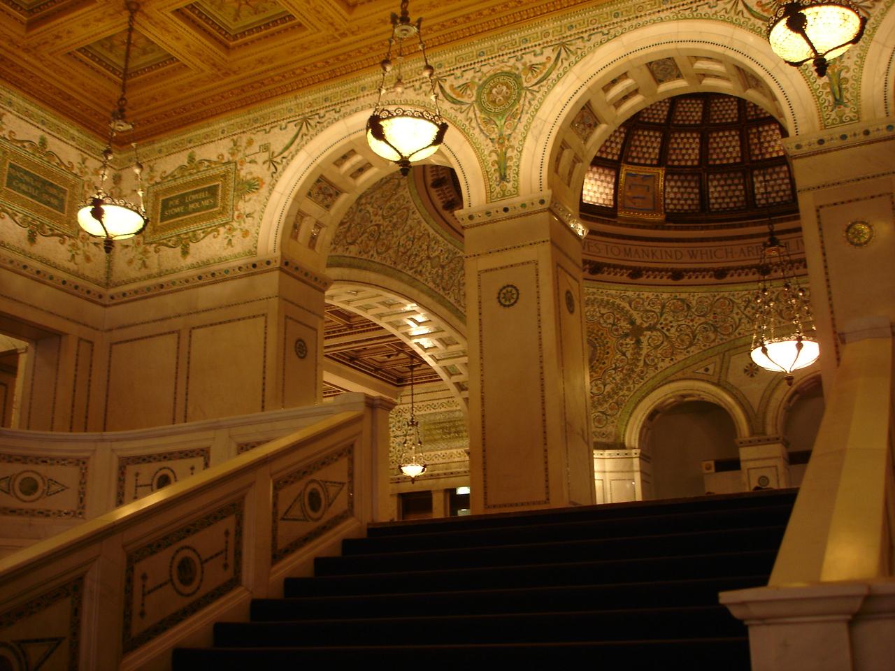 "Chicago Cultural Center ""Preston Bradley Hall"""