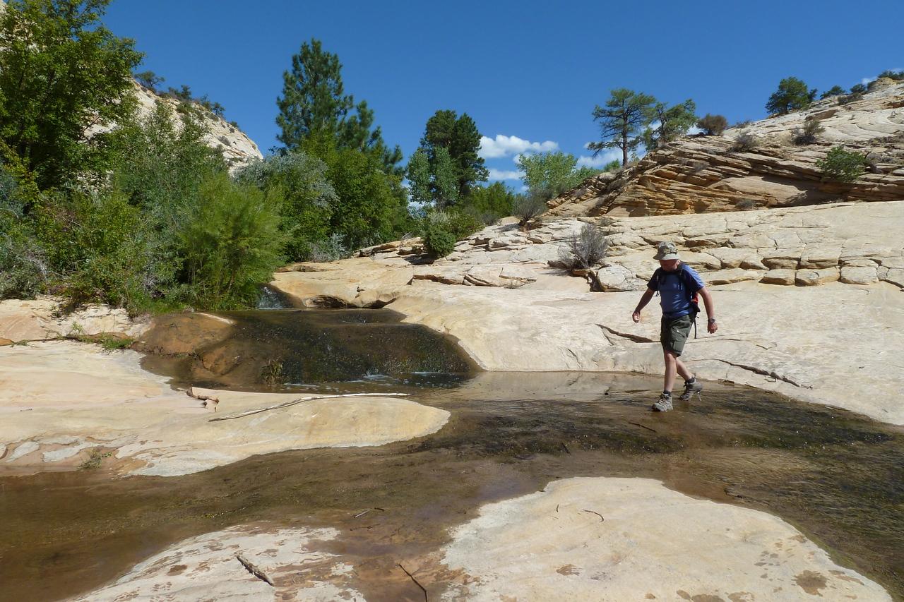"""Above """"Upper Calf Creek Falls"""""""
