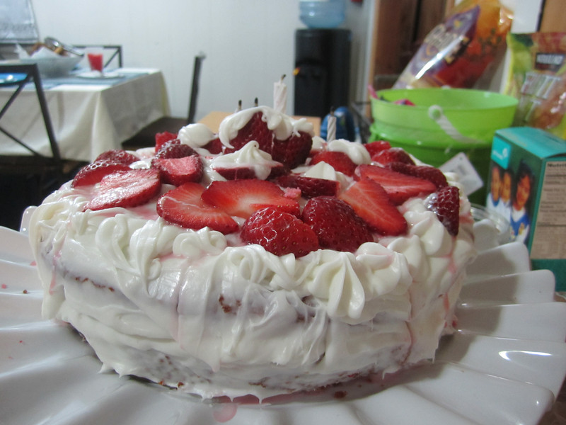 Strawberry Cake by Kuya Kyle