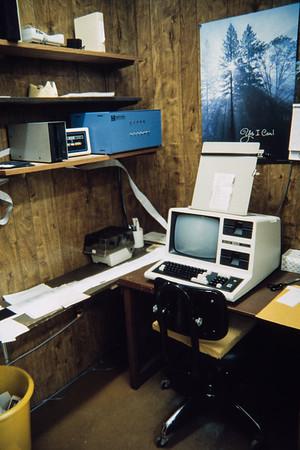Typesetting station.