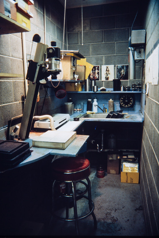 Tri-County Press production shop, Polo, Illinois, 1985
