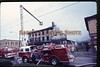 Another image from some 35mm color slides we came across of the Kenwood Hotel Fire which occurred in the summer of 1976.  The Kenwood Hotel used to reside on the corner of 3rd Avenue & 5th Street in New Brighton.  The tan building to the left was a Foxes Pizza.  Now there is an Advanced Auto and Family Video at this intersection.