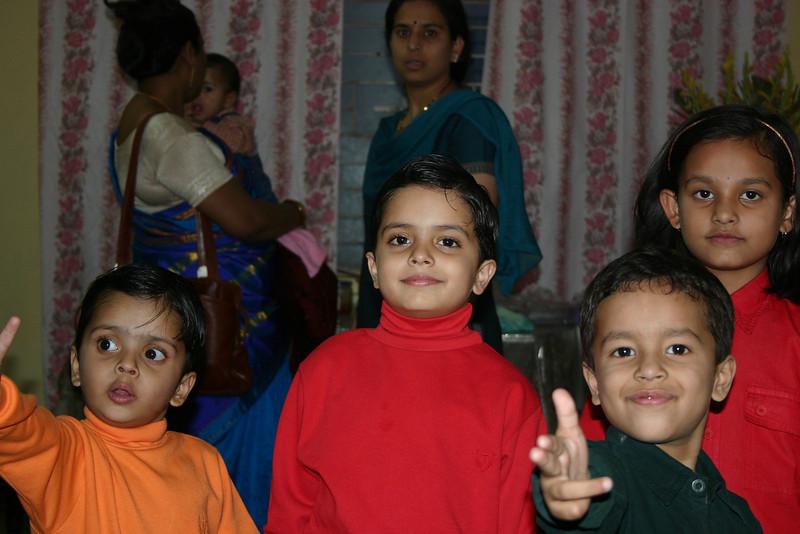 Ankit, Aniket, Saksham and Ananya