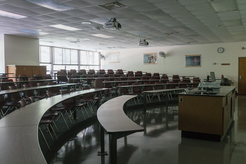 One of my first classrooms... freshman year... I believe Math
